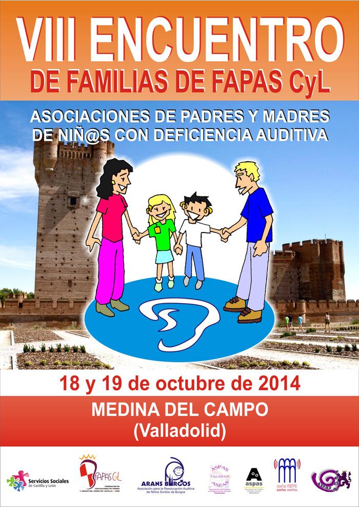 Cartel del VIII Encuentro de Familias