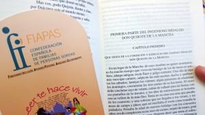 FIAPAS hará accesible mediante bucle y subtitulado la Lectura de 'El Quijote'
