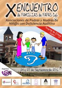 cartel del X Encuentro de Familias