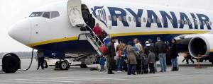 Acto de protesta cívica contra Ryanair