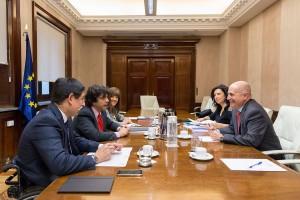 Reunión de FIAPAS con el secretario de Estado de Servicios Sociales