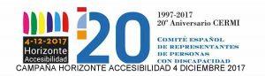 """Campaña """"Horizonte Accesibilidad 4 diciembre 2017"""""""