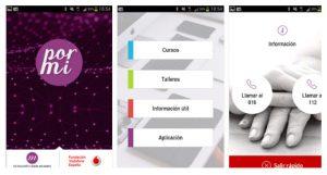 Aplicación contra la violencia PORMí, ya disponible