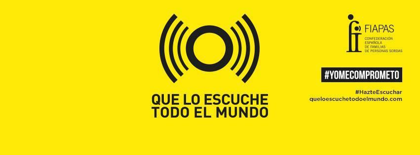 """Ana Pastor preside la puesta en marcha de la campaña """"Que lo escuche todo el mundo"""""""