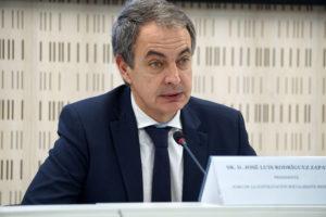 José Luis Rodríguez Zapatero en la clausura