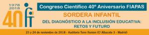 Congreso Científico 40º Aniversario de FIAPAS