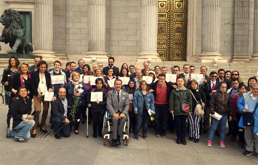 40 años después, la democracia llega a todas las personas con discapacidad, según el CERMI