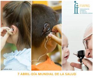 FIAPAS pide que la sanidad española no se olvide de las personas sordas y sus familias
