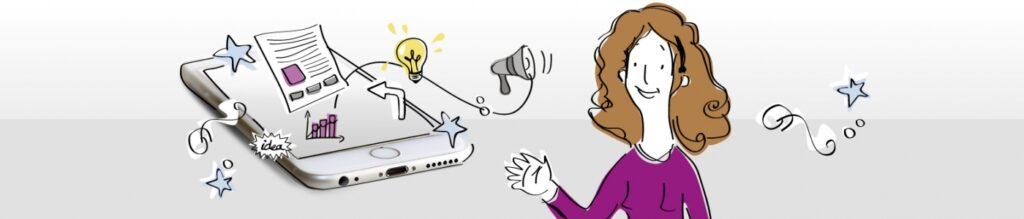 Mujer e ideas