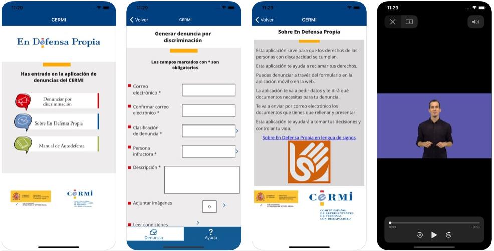 En defensa propia, app de denuncia de vulneraciones derechos