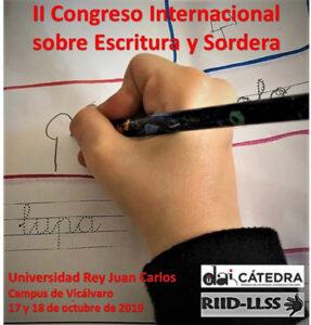 II Congreso Internacional sobre Escritura y Sordera