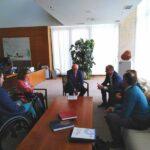 Reunion CERMI Castilla y Leon con las Cortes 1