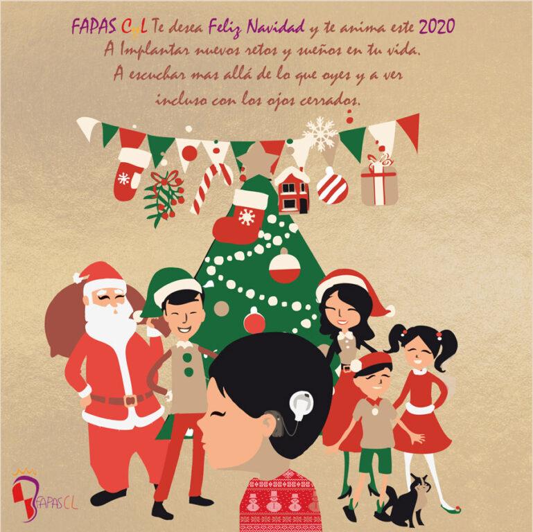FAPASCyL te desea Feliz Navidad