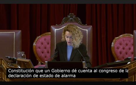 Presidenta del Congreso de los Diputados