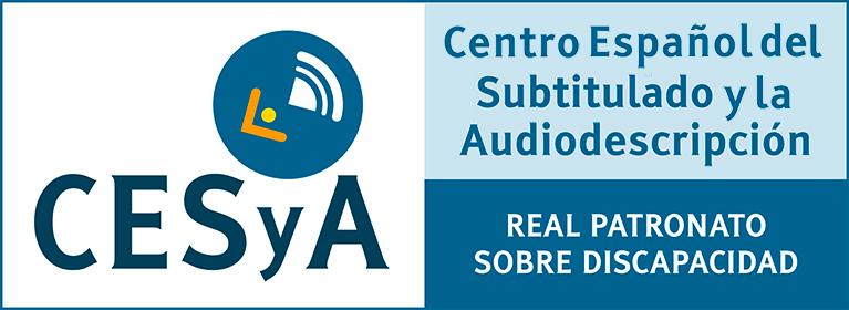 Logo del Centro Español del Subtitulado y la Audiodescripción