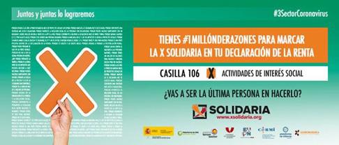 Marca la X Solidaria