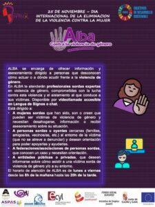 Explicación de ALBA de la CNSE