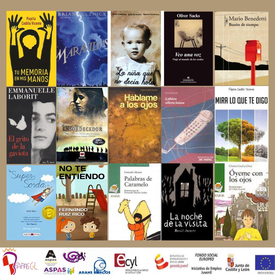 Libros donde la temática es la discapacidad auditiva