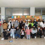 Foto de familia de los alumnos