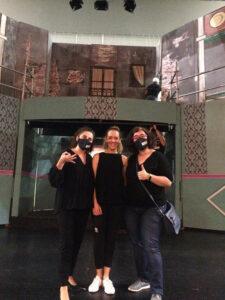 Profesionales de MQD y ARANSBUR que han hecho posible que sea accesible el musical